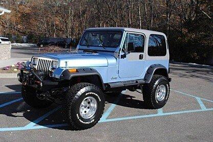 1989 Jeep Wrangler 4WD Laredo for sale 100958461