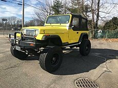 1989 Jeep Wrangler 4WD for sale 100962311