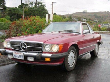 1989 Mercedes-Benz 560SL for sale 100816931
