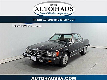 1989 Mercedes-Benz 560SL for sale 101046412