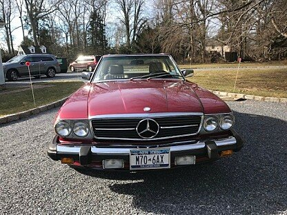 1989 Mercedes-Benz 560SL for sale 101051003