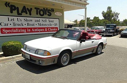 1989 ford Mustang GT Convertible for sale 101021981