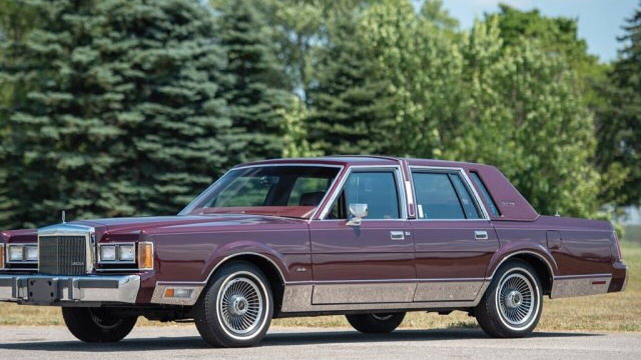 1989 Lincoln Town Car For Sale Near Auburn Indiana 46706 Classics