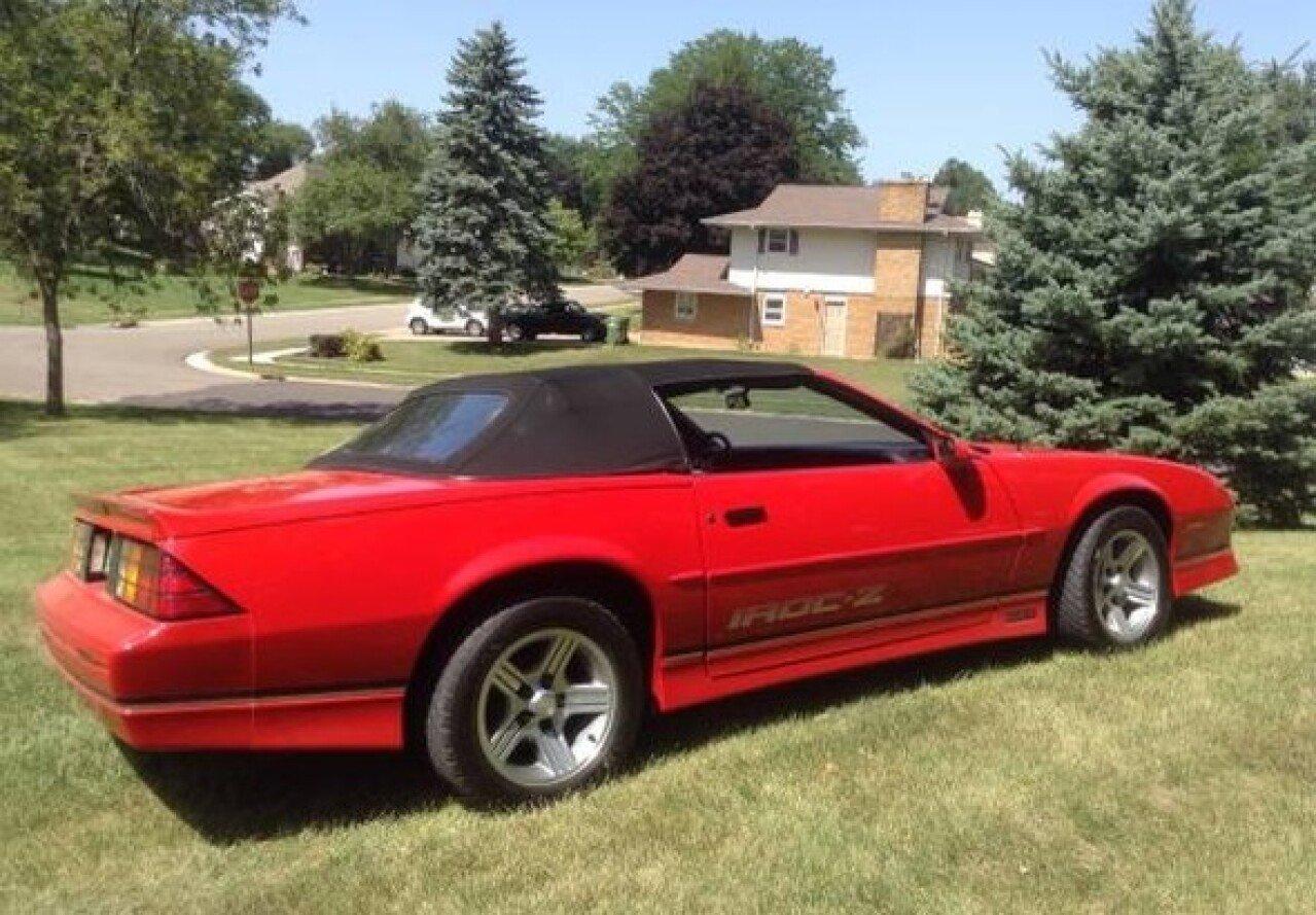 1990 Chevrolet Camaro Iroc Z Convertible For Sale Near Las