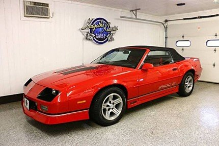 1990 Chevrolet Camaro IROC-Z Convertible for sale 100922438