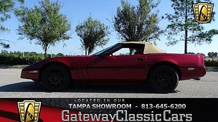 1990 Chevrolet Corvette Convertible for sale 100986103
