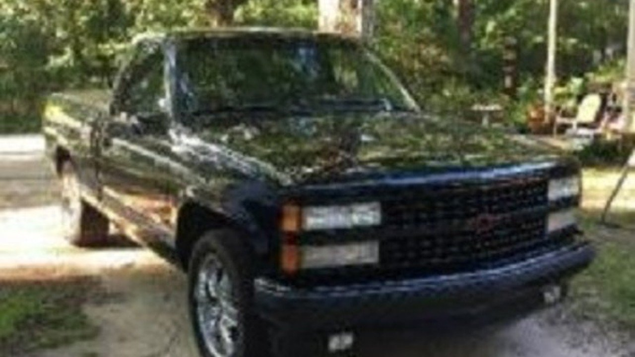 All Types single cab silverado ss : 1990 Chevrolet Silverado 1500 2WD Regular Cab 454 SS for sale near ...
