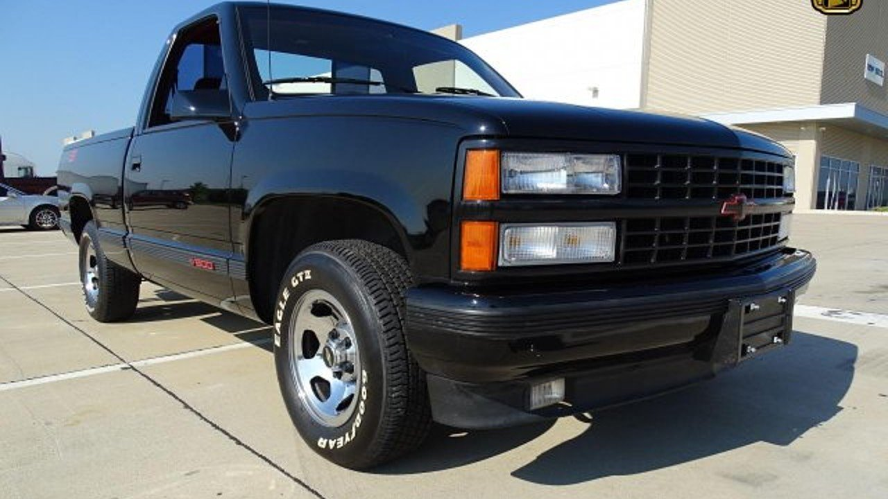 1990 chevrolet silverado and other c k1500 2wd regular cab 454 ss for sale 100884378