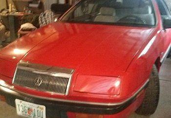 1990 Chrysler LeBaron for sale 100850463