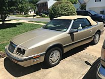1990 Chrysler LeBaron Premium Convertible for sale 100877450