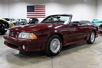 1990 Ford Mustang GT Convertible for sale 100756485