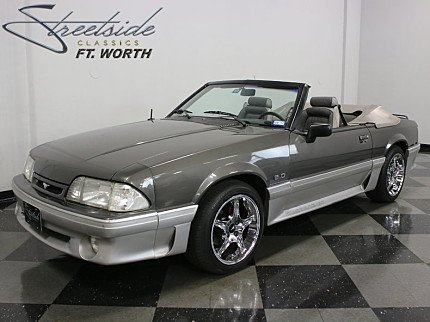 1990 Ford Mustang GT Convertible for sale 100833723