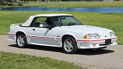 1990 Ford Mustang GT Convertible for sale 100891283