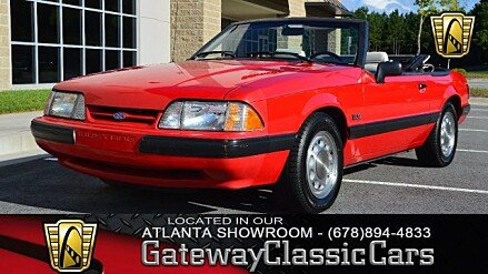 1990 Ford Mustang LX V8 Convertible for sale 101026034