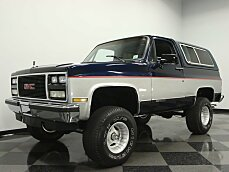 1990 GMC Jimmy 4WD for sale 100794652