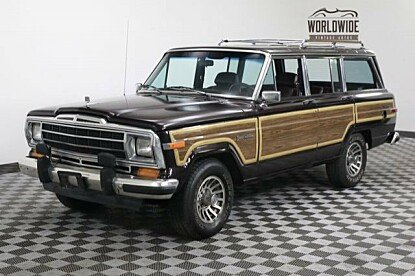 1990 Jeep Grand Wagoneer for sale 100876115