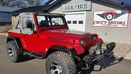 1990 Jeep Wrangler 4WD S for sale 100983735