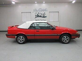 1990 Pontiac Sunbird LE Convertible for sale 100732295