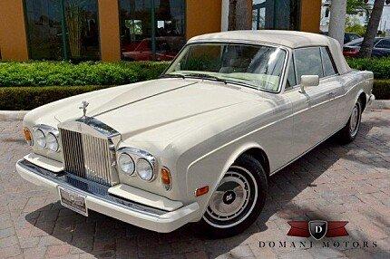 1990 Rolls-Royce Corniche III for sale 100721640