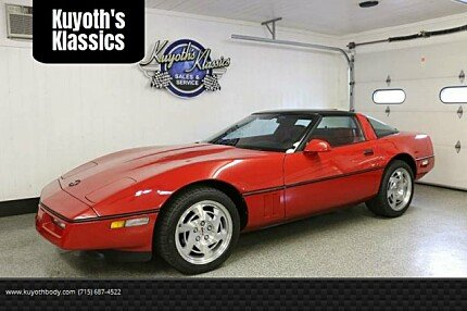 1990 chevrolet Corvette Coupe for sale 101006412