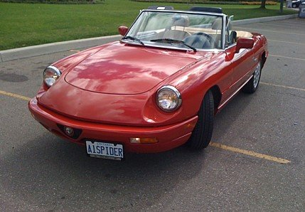 1991 Alfa Romeo Spider for sale 100793295