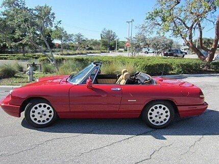 Alfa Romeo Spider Classics For Sale Classics On Autotrader - Alfa romeo convertible for sale
