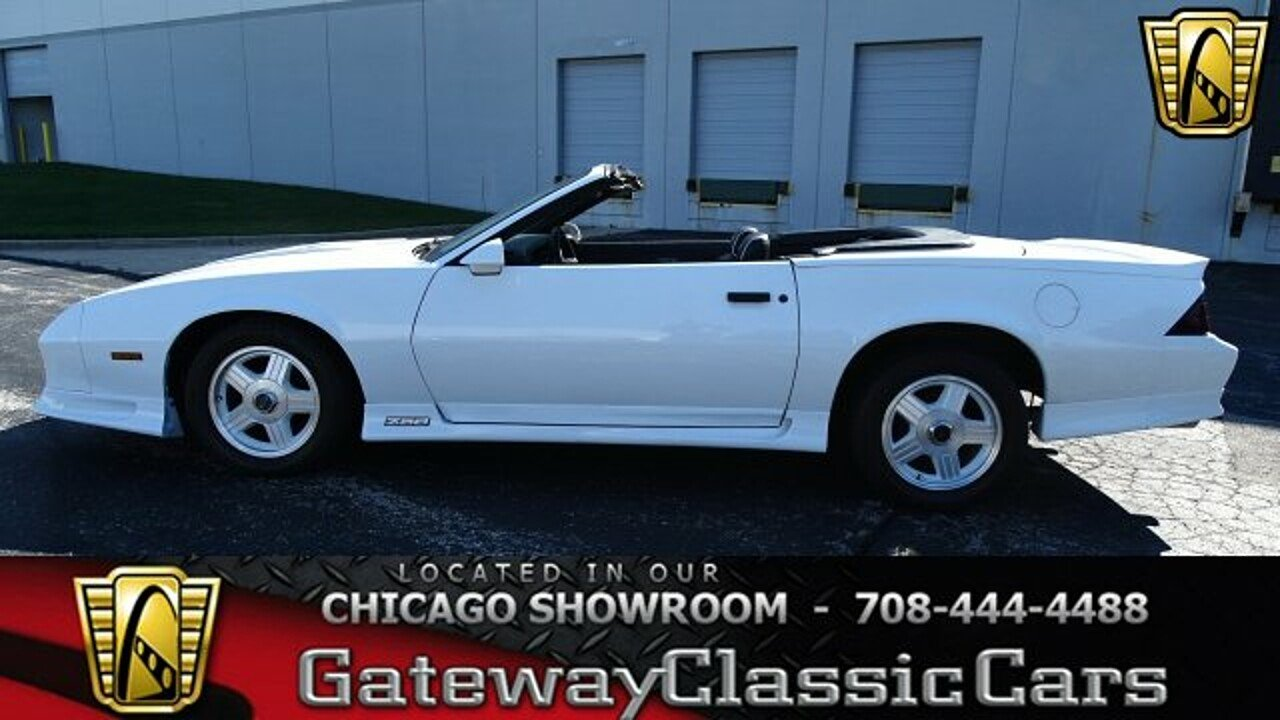 1991 Chevrolet Camaro Z28 Convertible for sale 100963543