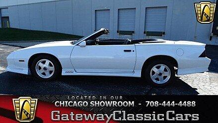 1991 Chevrolet Camaro Z28 Convertible for sale 100948402
