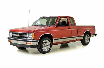 1991 Chevrolet S10 Pickup 2WD Extended Cab for sale 100985028