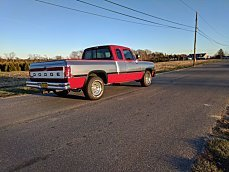 1991 Dodge D/W Truck 2WD Club Cab D-150 for sale 100942622