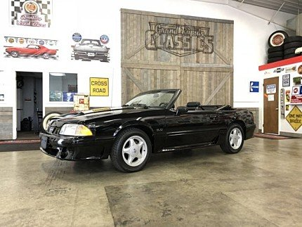 1991 Ford Mustang GT Convertible for sale 101028473