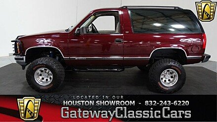 1992 Chevrolet Blazer 4WD for sale 100963626