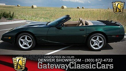 1992 Chevrolet Corvette Convertible for sale 100963580