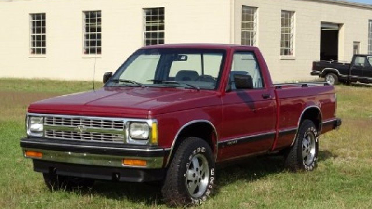1992 Chevrolet S10 Pickup 4x4 Regular Cab for sale 100923809