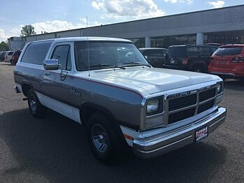 1992 Dodge Ramcharger 2WD for sale 100991998