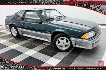 1992 Ford Mustang GT Hatchback for sale 100887500