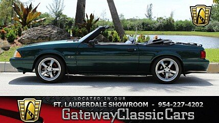 1992 Ford Mustang LX V8 Convertible for sale 101008174
