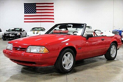 1992 Ford Mustang LX V8 Convertible for sale 101022965