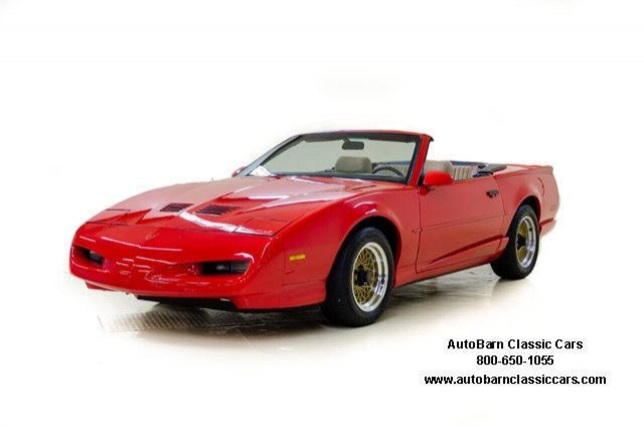 Pontiac Firebird Trans Am Convertible For Sale In Houston: 1992 Pontiac Firebird Trans Am Convertible For Sale Near