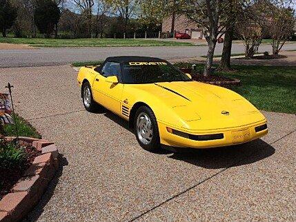 1993 Chevrolet Corvette Convertible for sale 100753820