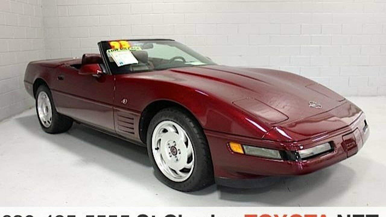 1993 Chevrolet Corvette Convertible for sale 100777506
