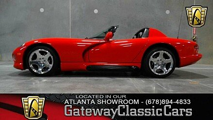 1993 Dodge Viper RT/10 Roadster for sale 100796965