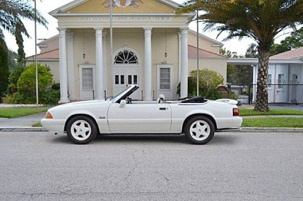 1993 Ford Mustang LX V8 Convertible for sale 100859785