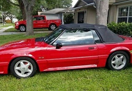 1993 Ford Mustang GT Convertible for sale 100904424