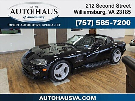 1994 Dodge Viper RT/10 Roadster for sale 100924692