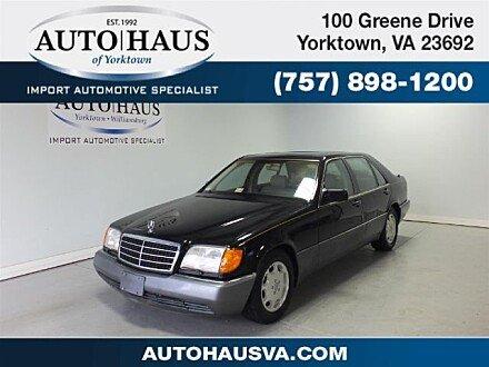 1994 Mercedes-Benz S500 Sedan for sale 100915963