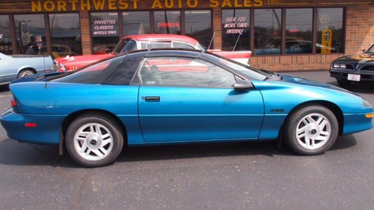 Camaro 1995 chevrolet camaro : 1995 Chevrolet Camaro Z28 Coupe for sale near North Canton, Ohio ...