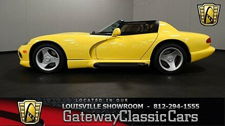 1995 Dodge Viper RT/10 Roadster for sale 100790514