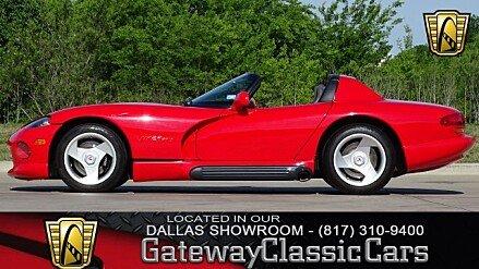 1995 Dodge Viper RT/10 Roadster for sale 100987097