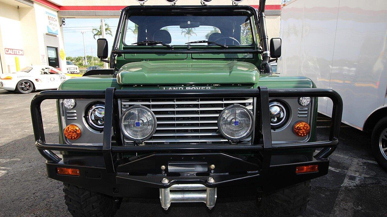 for landrover diesel offroads florida rover land turbo defender sale